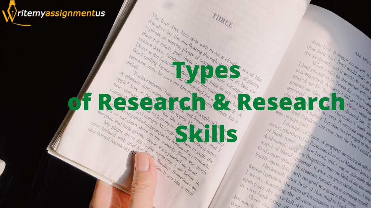 Types of Research & Research Skills
