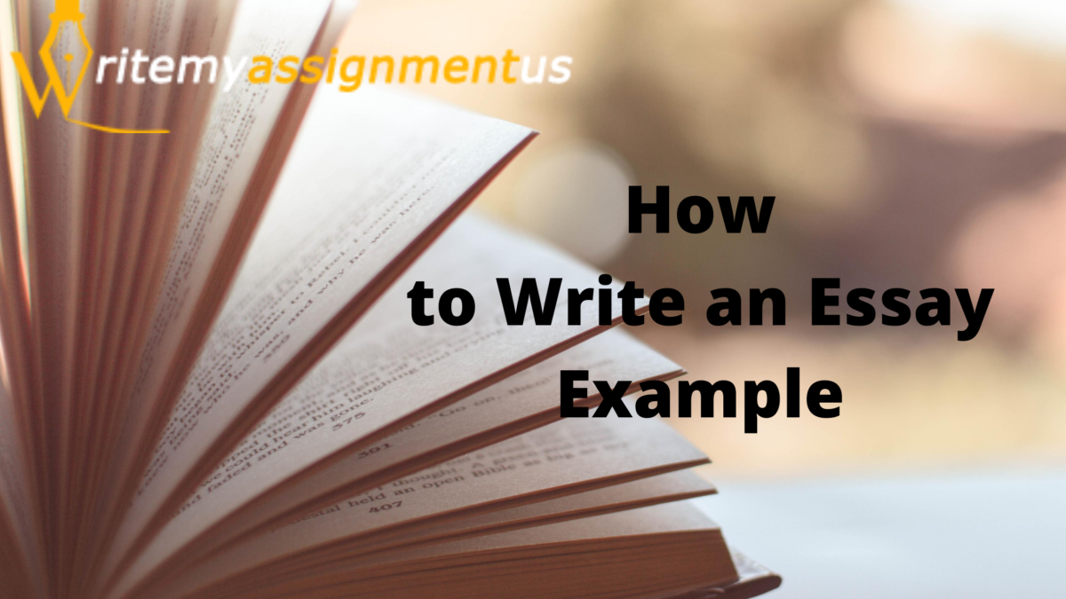 How to Write an Essay Example