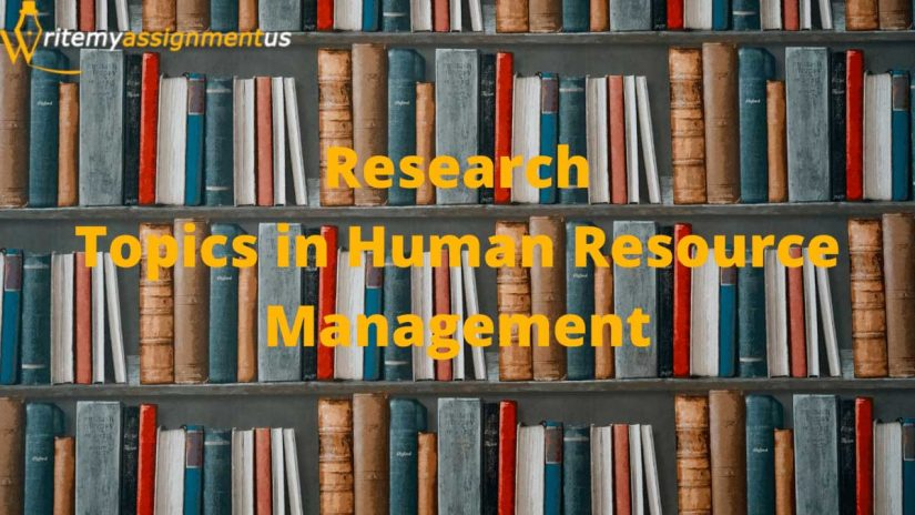 Research Topics in Human Resource Management